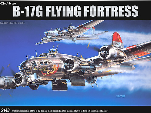 Academy - Boeing B-17G Flying Fortress 1/72
