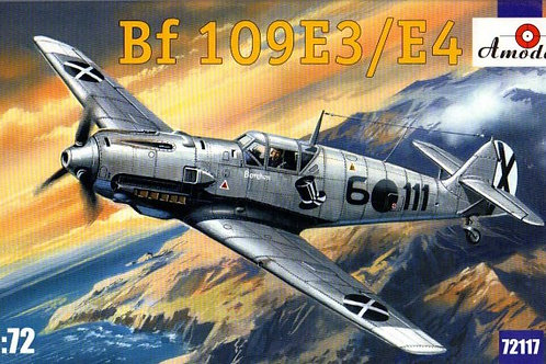Amodel - Messerschmitt Bf 109E-3/Bf 109E-4 1/72