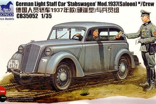 Bronco - German Stabswagen Light Staff Car 1/3