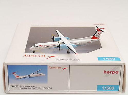 Herpa - Bombardier Q400 Austrian Arrows 1/500