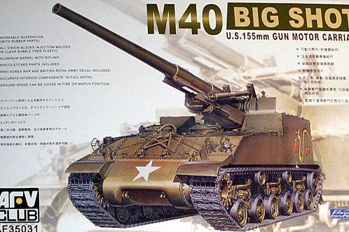 AFV Club - U.S. 155mm Gun Motor Carriage M40 Big Shot 1/35