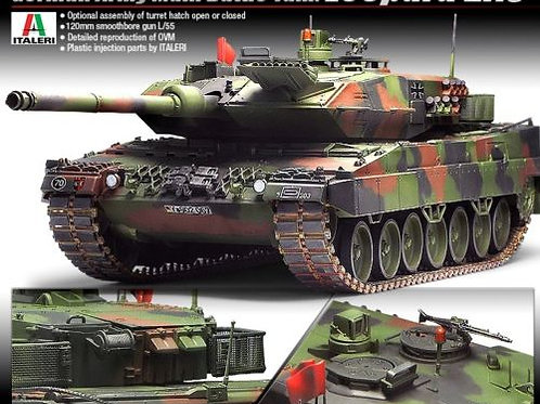Academy - German Army Tank Leopard 2A6 1/35