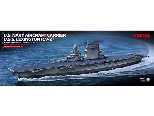 Meng Model - US Navy Aircraft Carrier USS Lexington (CV-2) 1/700