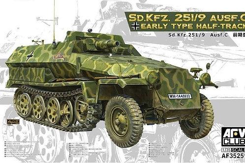 AFV Club - Sd.Kfz.251/9 Ausf.C Early Type 1/35