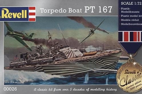 Revell - Torpedo Boat PT-167 1/72