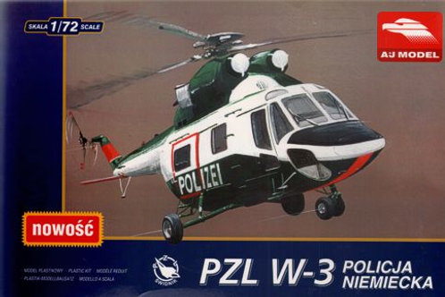 """AJ Model - PZL W-3T """"Sokol"""" German Police/Polizei"""