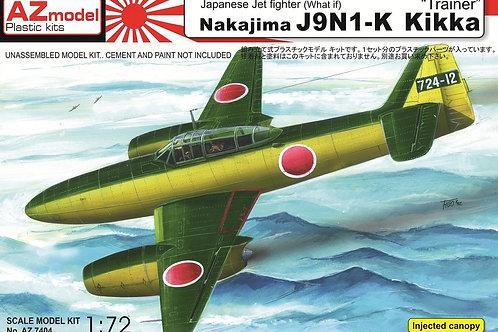 AZ Model - Nakajima J9N1-K Kikka 1/72
