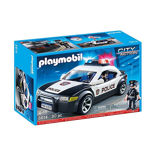 Playmobil 5614 - Police Car with Light & Sound