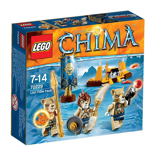 Lego 70229 Legends of Chima - Lion Tribe Pack