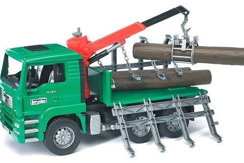 Bruder 02769 - MAN TGA Timber Truck with Loading Crane