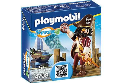 Playmobil 4798 Super 4 - Sharkbeard