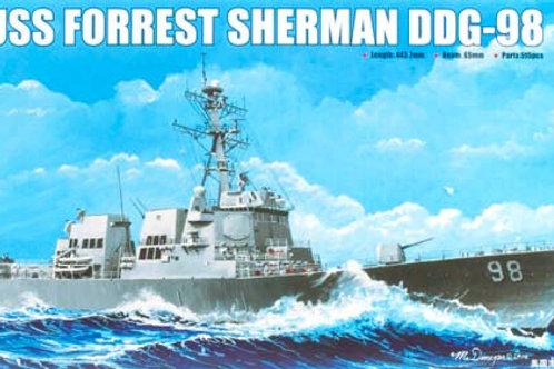 Trumpeter - USS Forrest Sherman DDG-98 1/350