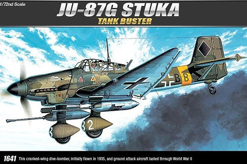 Academy - Junkers Ju 87G-1 'Stuka' Tankbuster 1/72