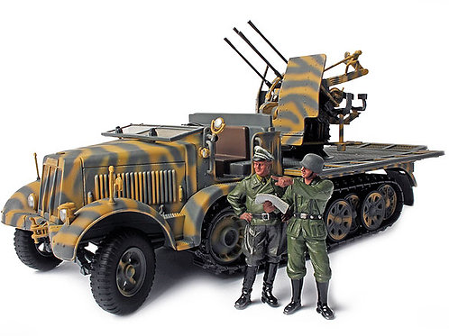 Forces of Valor - German 20mm Sd.Kfz.7/1 Half Track 1/32