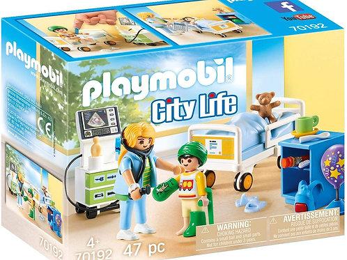 Playmobil 70192 City Life - Children's Nurse Room