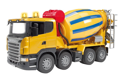 Bruder 03554 - Scania R-Series Cement Mixer 1/16
