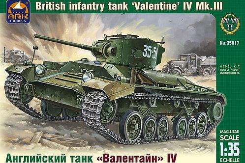 Ark Models - British Infantry Tank 'Valentine' IV