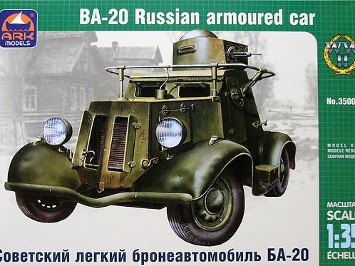 Ark Models - BA-20 Russian Light Armored Car 1/35
