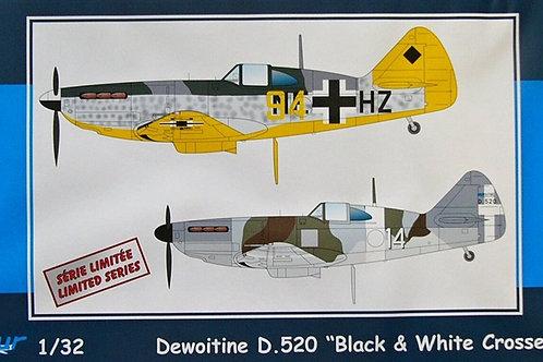 Azur - Dewoitine D.520 Black & White Crosses