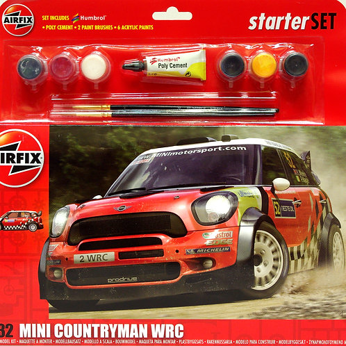 Airfix - Mini Countryman WRC - Gift Set 1/32