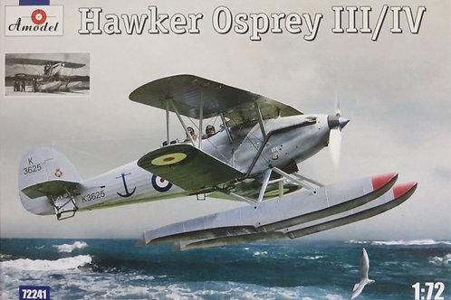 Amodel - Hawker Osprey III/IV 1/72