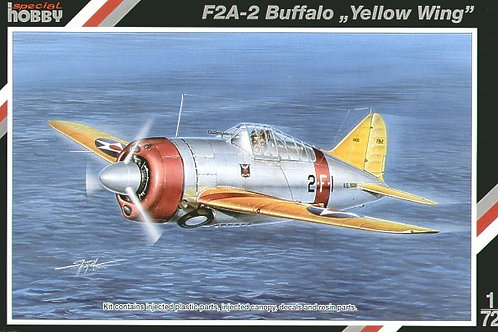Special Hobby - Brewster F2A-2 Buffalo Yellow Wing