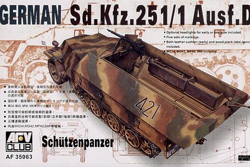 AFV Club - Sd.Kfz.251/1 Ausf.D Schützenpanzer 1/35
