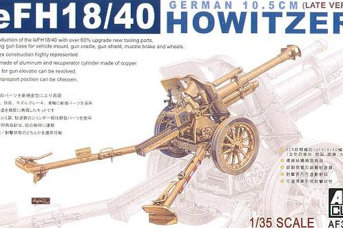 AFV Club - leFH18/40 10.5cm German Howitzer 1/35