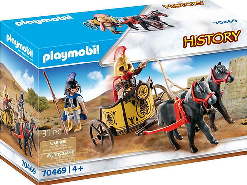 Playmobil 70469 History - Achilles in a Chariot with Patroclus