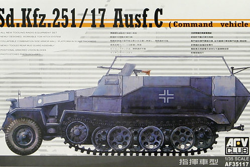 AFV Club - Sd.Kfz.251/17 Ausf.C Command 1/35
