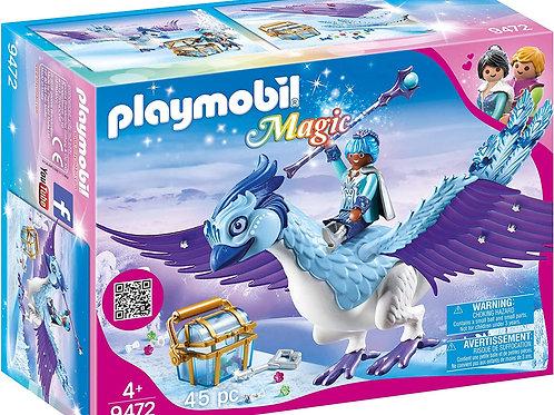 Playmobil 9472 Magic - Winter Phoenix with Jewelry Plugs