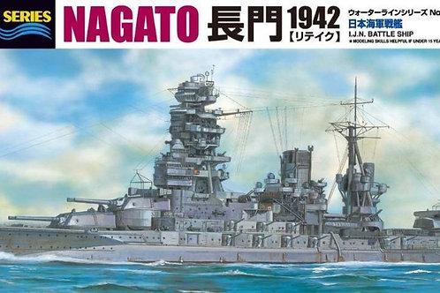 Aoshima - IJN Battleship Nagato 1942 1/700