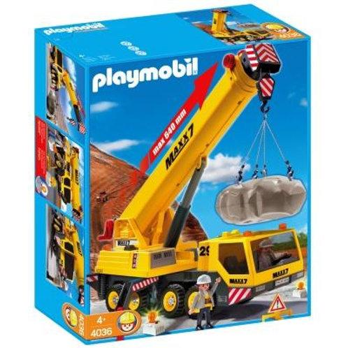Playmobil 4036 - Heavy Duty Mobile Crane