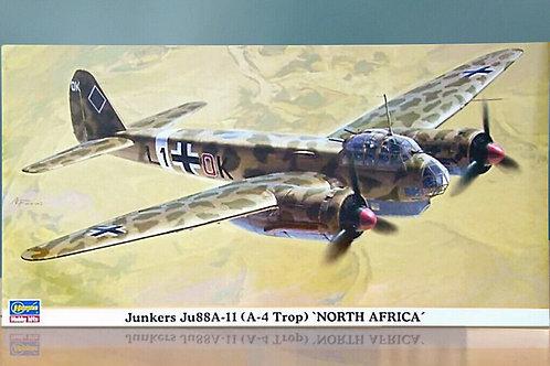 Hasegawa - Junkers Ju88A-11 (A-4 Trop) North Africa 1/72