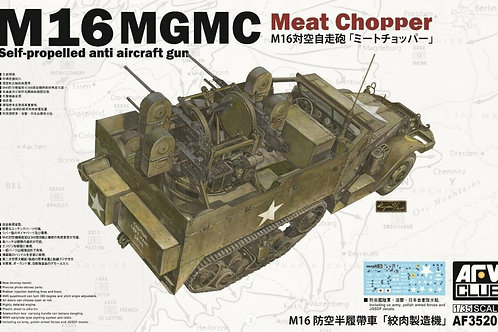 AFV Club - M16 MGMC Meat Chopper Self-Propelled Anti Aircraft Gun 1/35