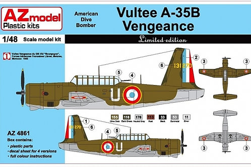 AZ Model - Vultee Vengeance A-35B 1/48