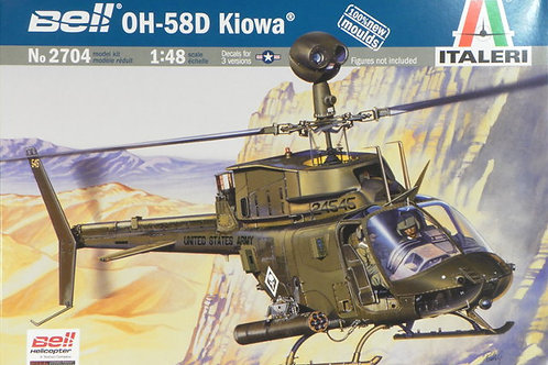 Italeri - Bell OH-58D Klowa 1/48
