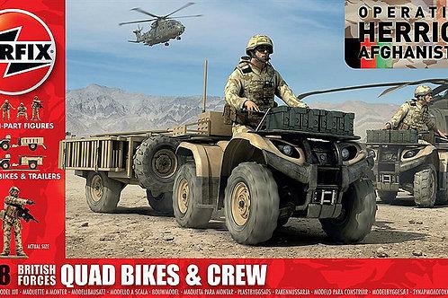 Airfix - British Forces Quad Bikes and Crew 1/48