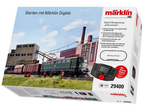 """Märklin - BR 140, Deutsche Bahn AG """"Freight Service"""" Digital Starter Set. 230 V"""