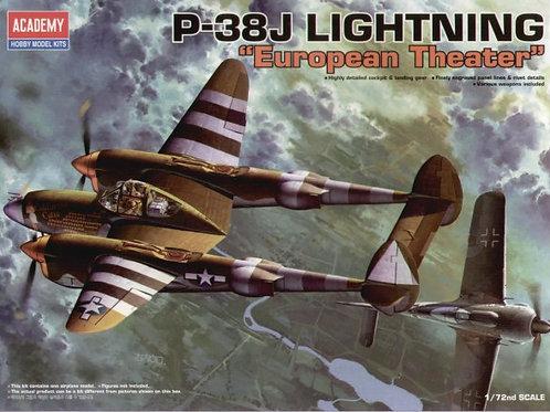 Academy - Lockheed P-38J Lightning Europe 1/72