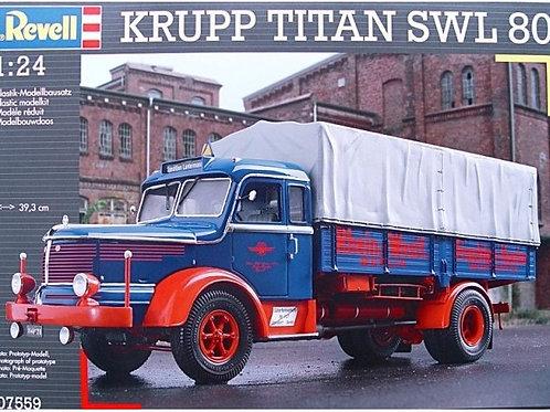 Revell - Krupp Titan SWL80 1/24
