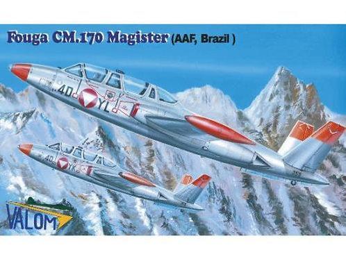 Valom - Fouga CM.170 Magister (AFF. Brazil) 1/72
