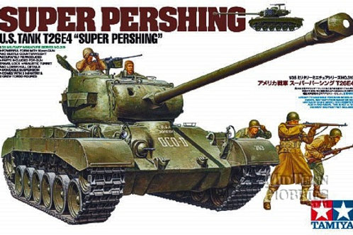 Tamiya - U.S. Army T26E4 Super Pershing 1/35