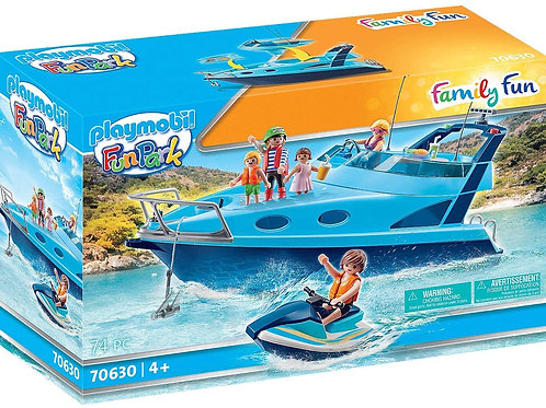 Playmobil 70630 Fun Park - Yacht with Jet Ski