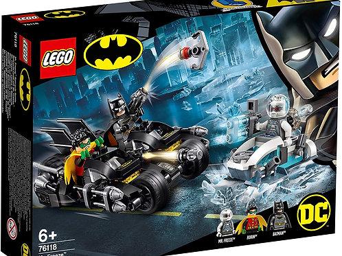 Lego 76118 Marvel Batman - Mr. Freeze Batcycle Battle