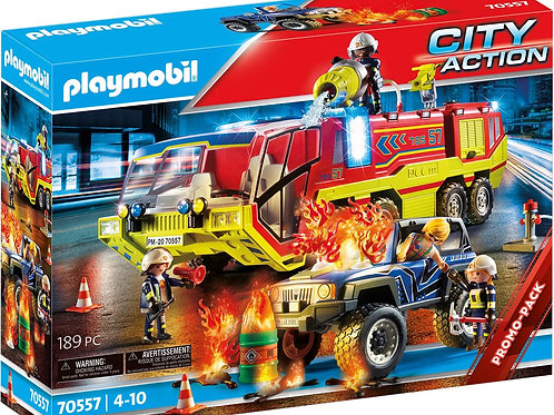 Playmobil 70557 City Action - Fire Engine with Truck