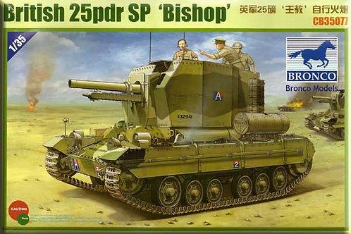 Bronco - British 25 Pdr SP Bishop 1/35