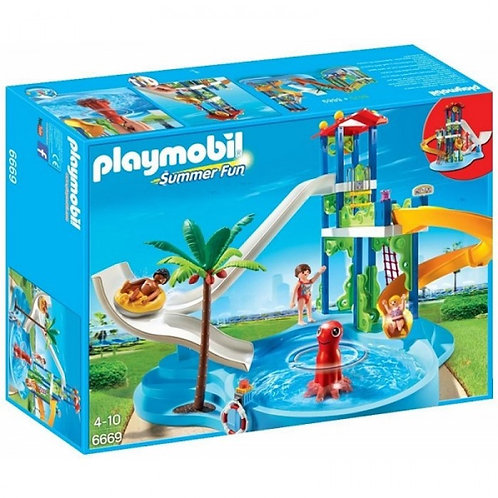 Playmobil 6669 Summer Fun - Water Park with Slides