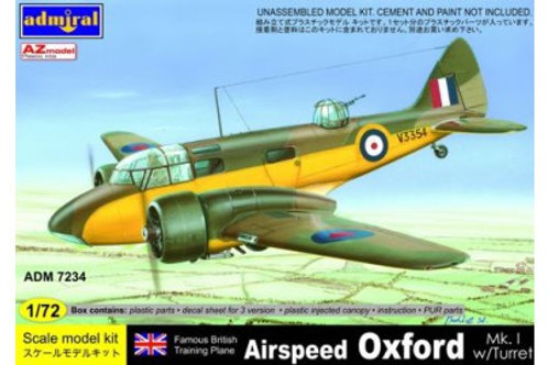 AZ Model - Airspeed Oxford Mk.I with turret 1/72