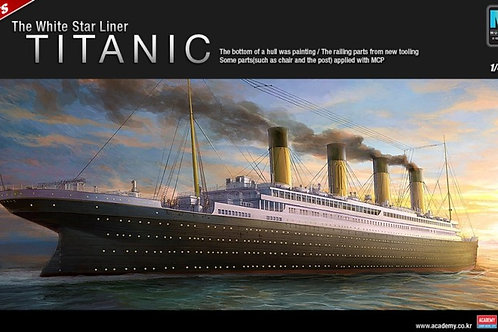 Academy - RMS Titanic - The White Liner 1/400